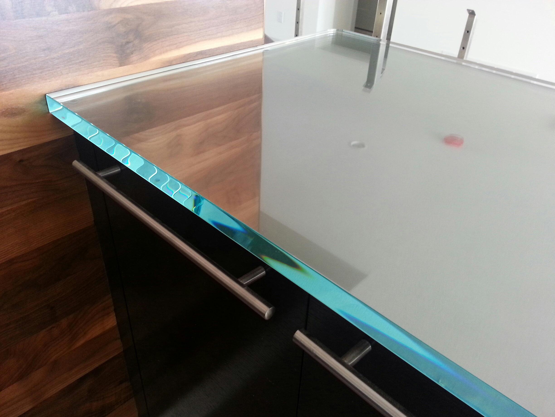 glass countertops studio l glassworks. Black Bedroom Furniture Sets. Home Design Ideas